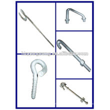 electric pole protection hardware fitting hot-dip galvanized Bent Gasket power transmission line accessories